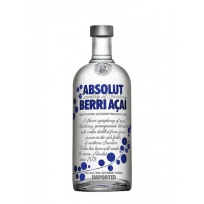 Vodka Absolut Açai 1 litro
