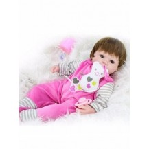 Boneca Realista Bebê Reborn Larinha