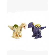 Dinossauro Jurassic World Brawlasaur Ankylosaurus vs Indominus Rex - Hasbro