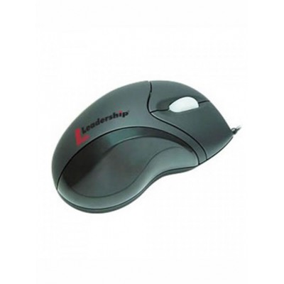 Mouse Óptico p/canhoto Leadership USB PRETO