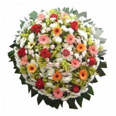 Coroa de Flores Premium  – Grande (1,70 x 1,60)