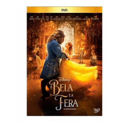 A Bela e A Fera - DVD