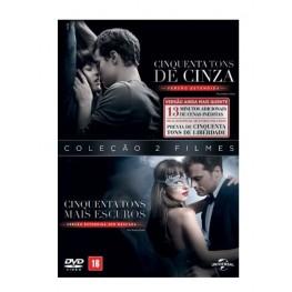 Cinquenta Tons de Cinza + Cinquenta Tons Mais Escuros - 2 DVDs