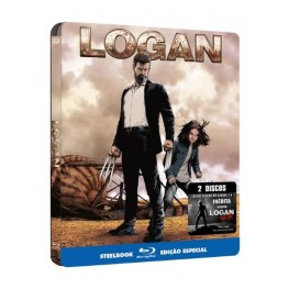 Logan - 2 Discos - Blu-Ray - Steelbook