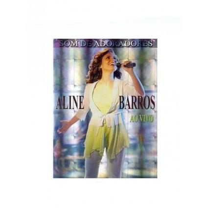 DVD ALINE BARROS SOM DE ADORADOR AO VIVO